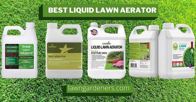 Best Liquid Lawn Aerator